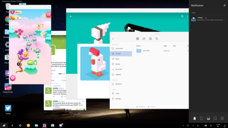 Remix OS multiventana