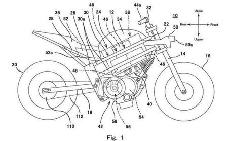 Se filtra la patente de una Kawasaki eléctrica, una streetfighter con motor multiusos