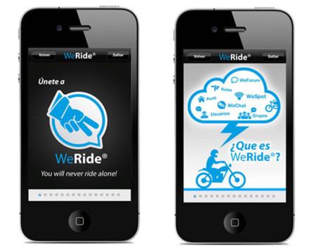WeRide, una aplicación perfecta para complementar tu afición, si eres motero