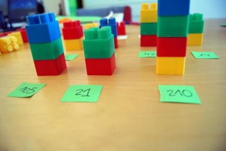 Multiplos con Lego