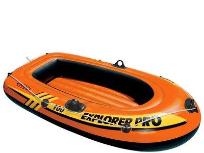 Adelántate a la temporada de verano y ahorra: barca Intex explorer por 14,39 euros en Amazon