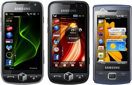 Samsung Jet, Omnia II y Omnia Lite estrenan TouchWiz 2.0