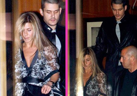 Jennifer Aniston y John Mayer juntos entre rumores de embarazo