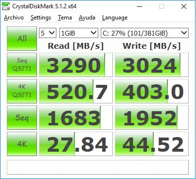 Asus Rog Gx700 Crystaldiskmark 1