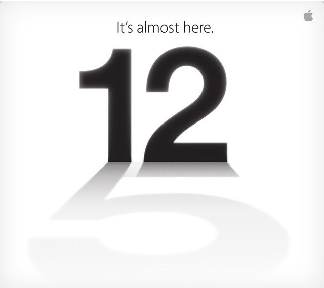 Evento 12 septiempre Apple