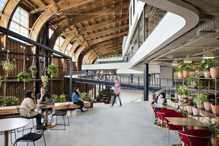 Googles New L A Office By Zgf Architects In California Multiple Levels