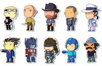 Personajes famosos con estilo 'Scribblenauts', Chuck Norris incluido