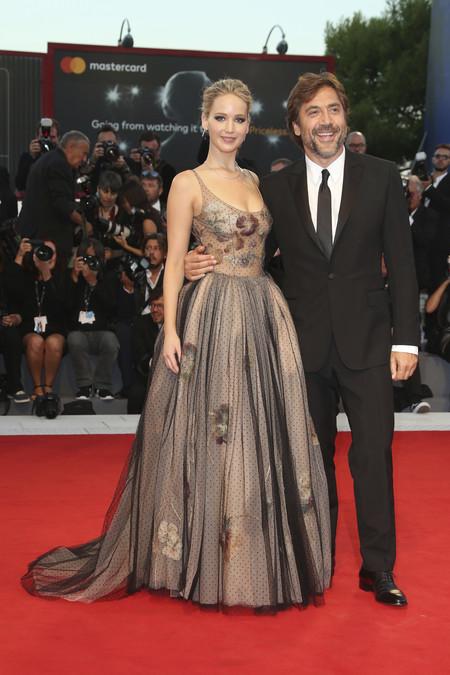 Jennifer Lawrence Venecia Dior