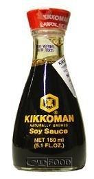 La salsa de soja Kikkoman