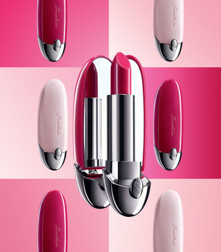 Este verano, las barras de labios Rouge G, en edición limitada Fall in Rose, serán el no va más