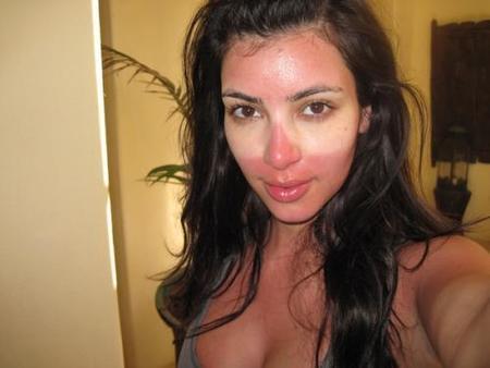 Kim Kardashian, quitate las gafas cuando tomes el sol