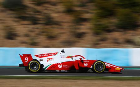 Schumacher Jerez F2 2020