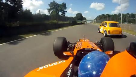 De trackday, ¡con un Fórmula 1! (vídeo)