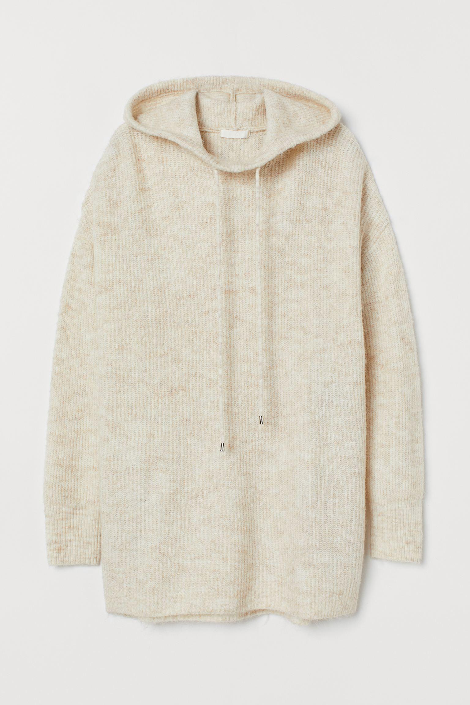 Jersey de punto con capucha