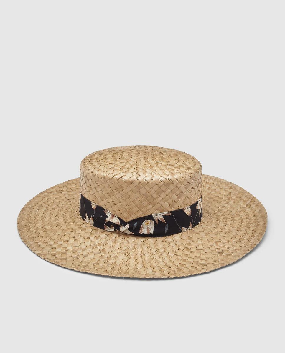 Sombrero cordobés de rafia
