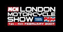 Chris Pfeiffer y el MCN London Motorcycle Show