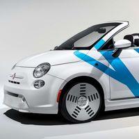 Harman presenta en el CES un Fiat 500e roadster cargado de sensores para controlar su entorno