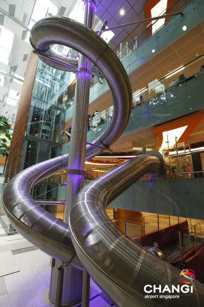 Changi Terminal 3 Slide T3