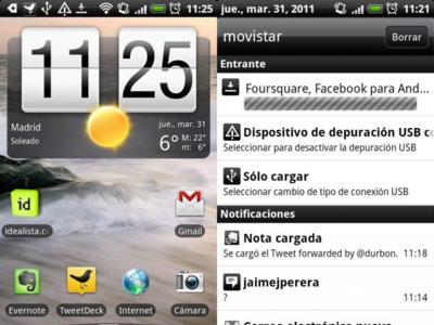 Primeros pasos con Android: la barra de notificaciones