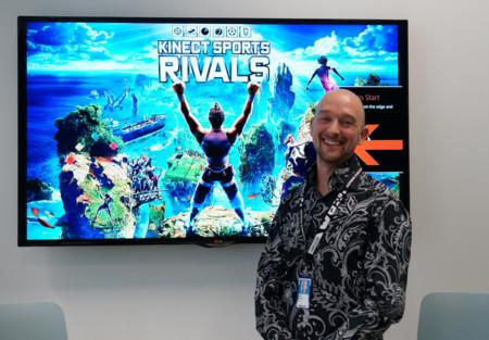 """""""El nuevo Kinect simplemente funciona. Y lo hace de forma casi invisible para el usuario"""". Nick Burton de Rare"""