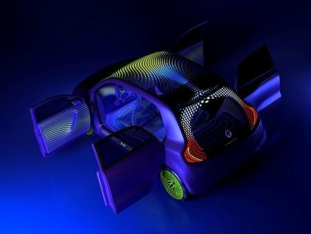 Renault Twin'Z Concept-Car, puertas suicidas