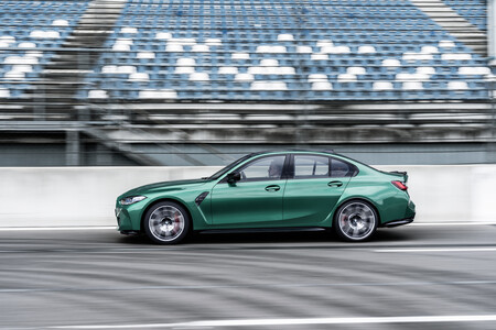 Bmw M3 Competition Lateral