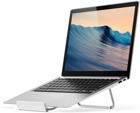 Soporte Portatil UGREEN Soporte Portátil, Laptop Stand de Aluminio, Soporte Ajustable para Ordenador Portátil de 11-17 Pulgadas, Compatible con los Laptops de Macbook, DELL, HP, Samsung, Lenovo, Xiaomi, Huawei, ASUS
