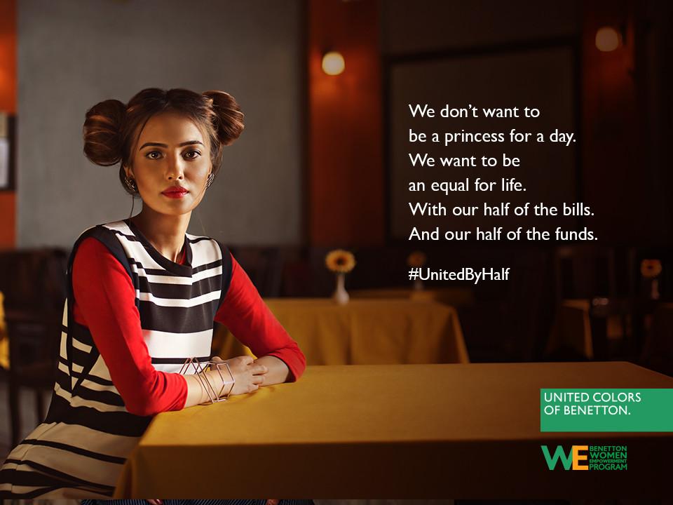 Foto de Hoy es Día Internacional de la Mujer y Benetton lucha por la igualdad entre hombres y mujeres (10/19)