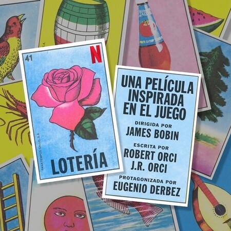 Netflix Loteria Final Singlecard Rose V2 Spanish