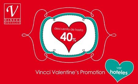 Hasta un 40% de descuento en Vincci Hoteles hasta final de año y por San Valentín