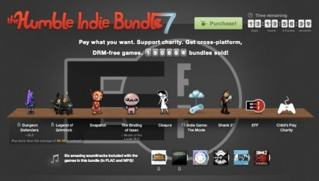 Humble Indie Bundle 7: juegos para Mac y una película por el precio que quieras