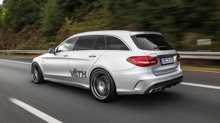 Väth lleva el de por sí brutal Mercedes-AMG C 63 Estate hasta los 700 CV