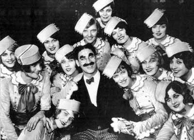 Las mujeres en las películas de los Hermanos Marx, por Antonio Tausiet