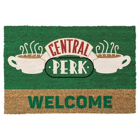 Regalo remember: felpudo de Central perk de Friends por 14,51€ en Amazon