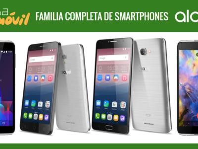 Así queda el catálogo de smartphones Alcatel tras la llegada de los nuevos Idol 4 y Pop 4