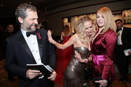 Judd Apatow, Jennifer Lawrence y Emma Stone