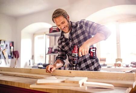 Descuentos de hasta el 20% en taladros, lijadoras, sierras o martillos de marcas como Einhell, Bosch o Worx en El Corte Inglés