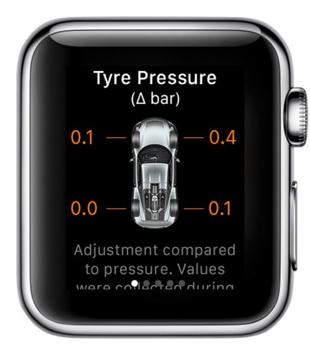 Porsche Car Connect Apple Watch