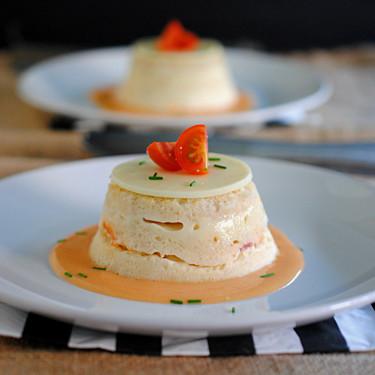 Pastel de pan de molde, jamón y queso: receta clásica renovada