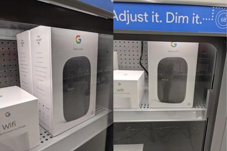 El Nest Audio, el nuevo altavoz de Google, aparece antes de tiempo en las estanterías de Walmart en Estados Unidos