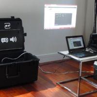 Vodafone Instant Classroom, un aula para niños refugiados transportable en una caja