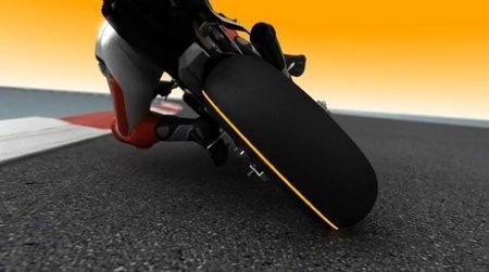 ¿Cómo es un neumático de moto?