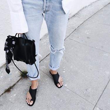 ¡En talones y a lo loco! Enséñalos con estas 13 sandalias pala low-cost favoritas del verano 2018
