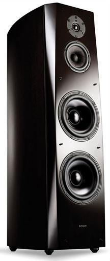 Frontal de las cajas acústicas Sony SS-AR1