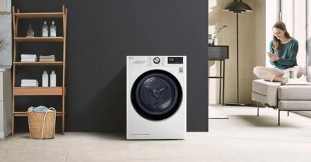 Esta eficiente secadora LG con WiFi se limpia automáticamente y hoy la tienes por 133 euros menos en los días sin IVA de MediaMarkt