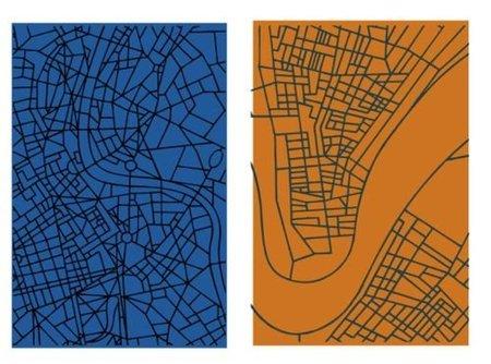 alfombras mapas colores