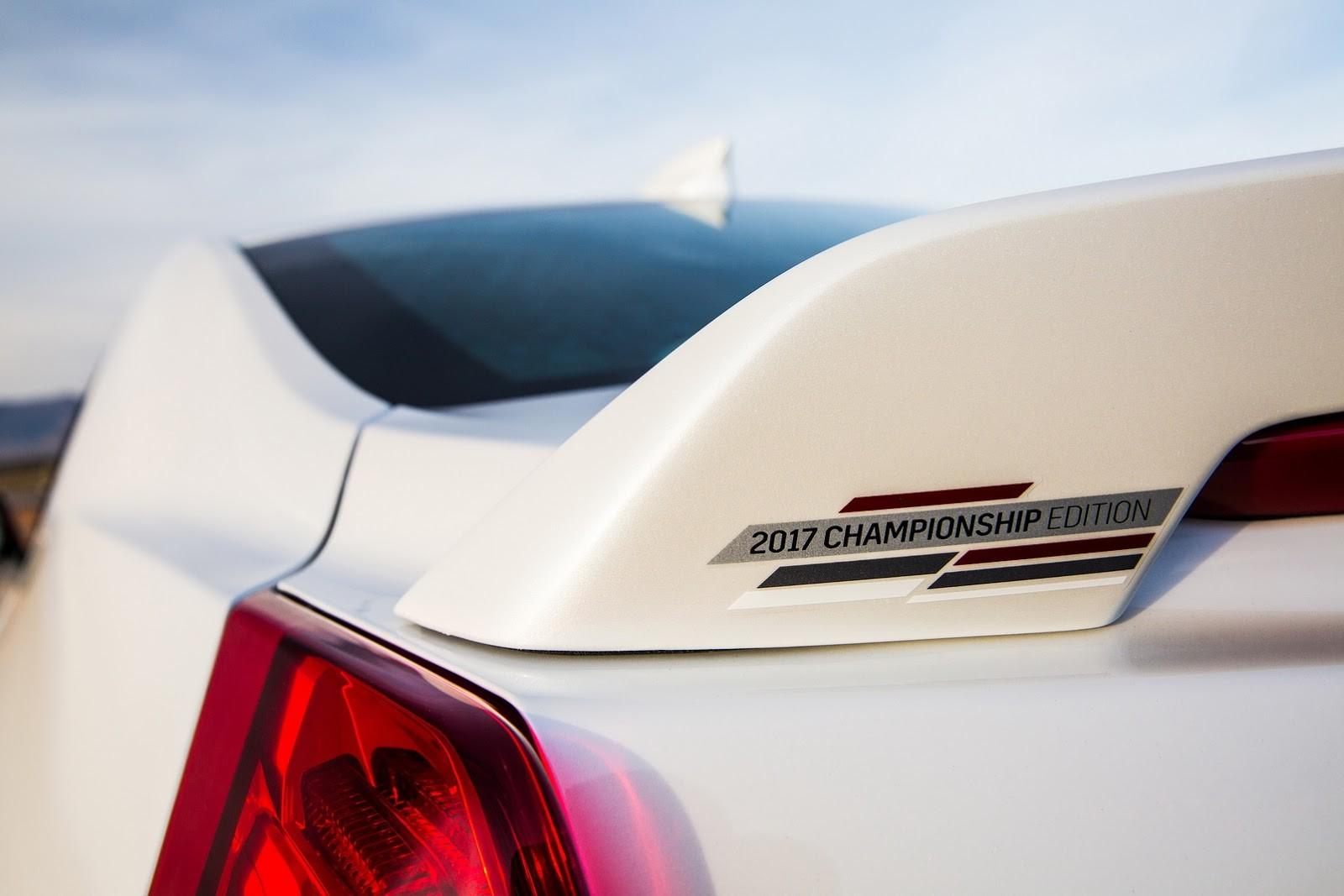 Foto de Cadillac ATS-V y CTS-V Chambipnchip Edition (12/14)