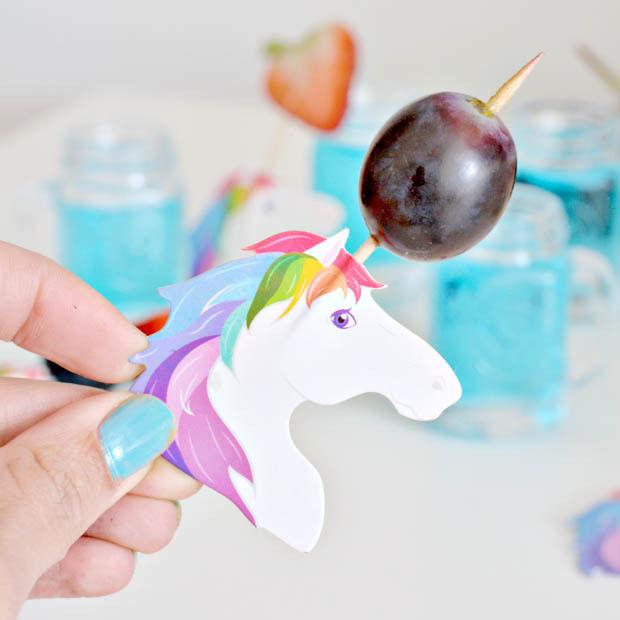 Fiesta con unicornios