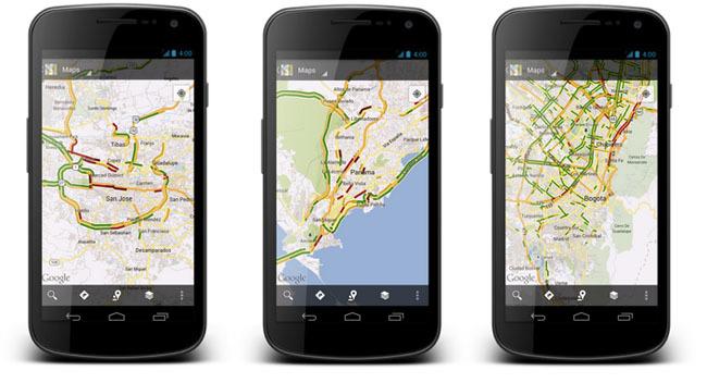 Google Maps Tráfico
