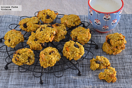 Desayunos Saludables Cole Galletas Avena Frutos Secos